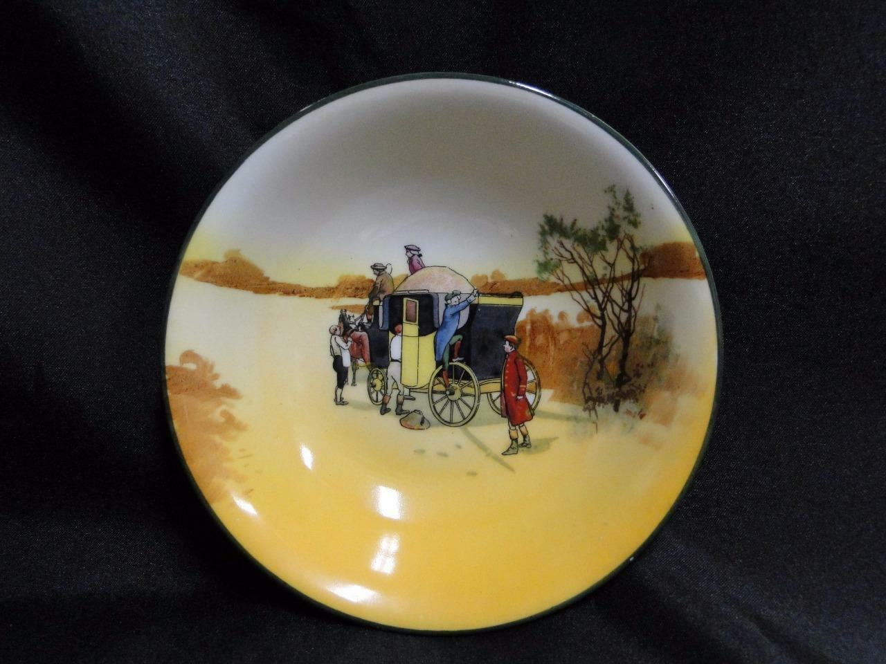 "Royal Doulton Coaching Days, Climbing onto a Stagecoach: Fruit Bowl, 5 1/2"", 12a"