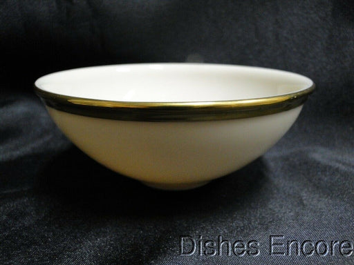 "Lenox Eternal, Ivory with Gold Trim: Sauce Dip Bowl 4 3/4"" x 2"" Tall"