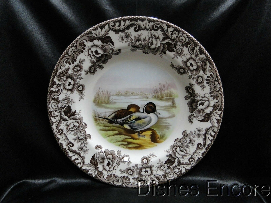 "Spode Woodland Pintail Game Bird, England: NEW Dinner Plate (s), 10 3/4"", Box"