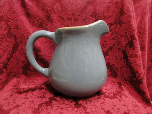 "Franciscan Ventura Blue, Blue with Tan Edge: 8"" Pitcher"