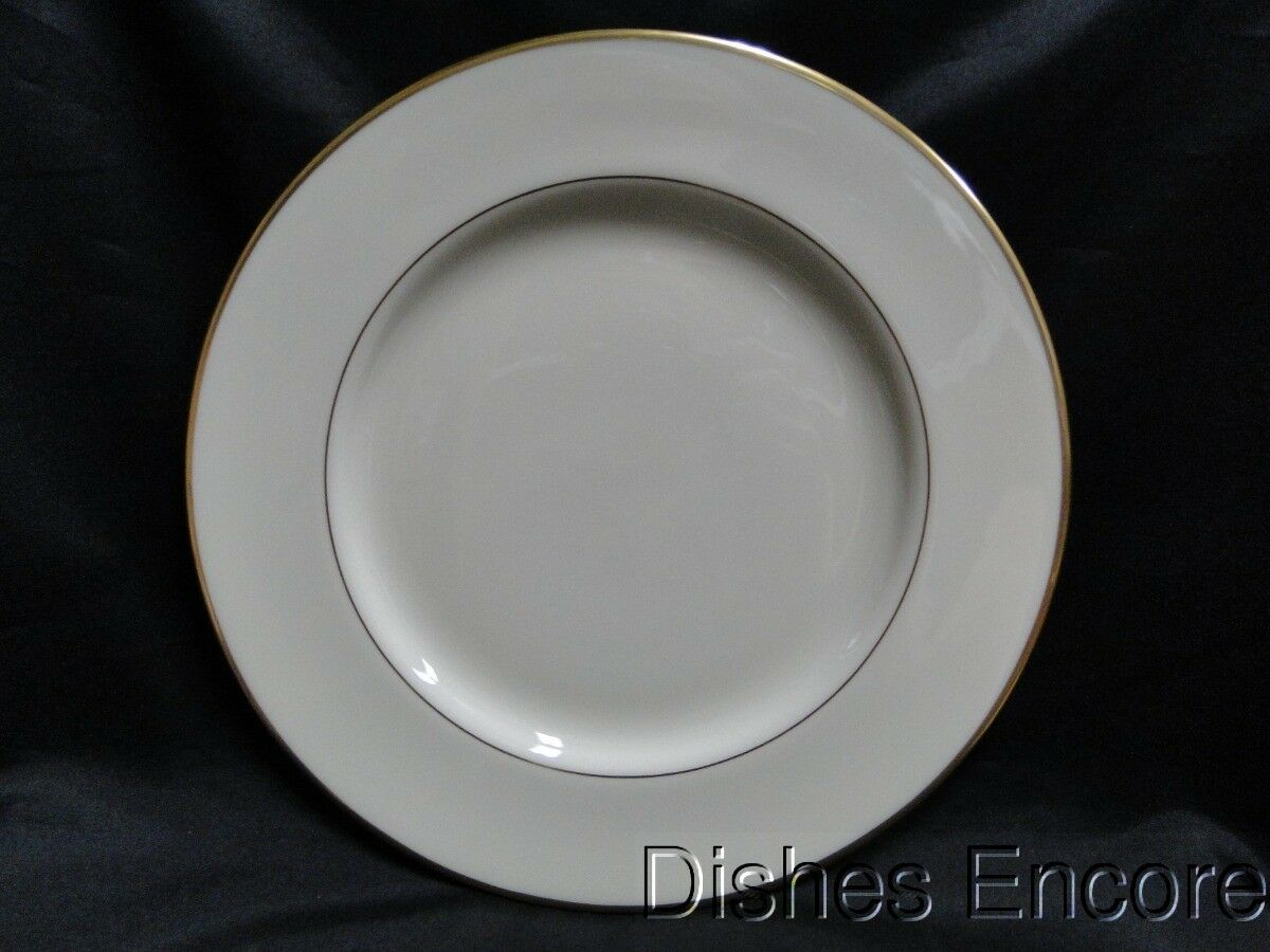 Lenox Mansfield, Ivory with Gold Trim: Dinner Plate (s) 10 1/2""