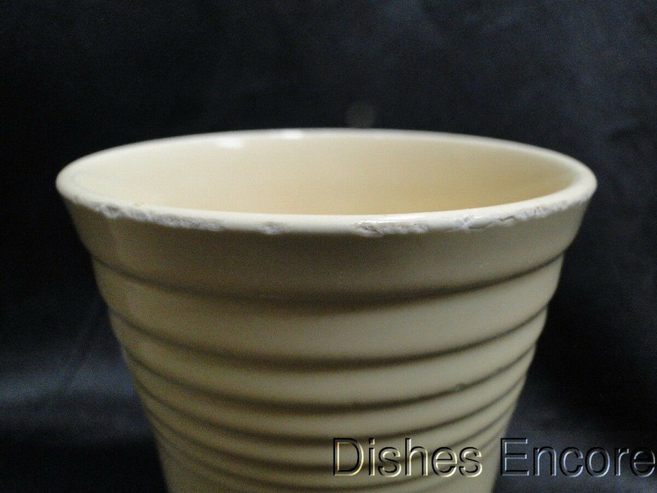 "Homer Laughlin Fiesta (Old): 8 oz. Old Ivory Tumbler AS IS, 4 1/2"" tall"