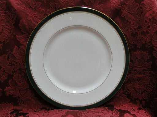 Royal Worcester Howard Leather Green, Gold Trim: Bread Plate, 6.25""