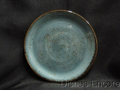 Steelite Craft, England: NEW Blue Coupe Bread Plate (s), 6""