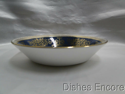 "Wedgwood Columbia Blue & Gold, Dragons, Flowers: Fruit Bowl (s), 5"" x 1 1/8"""