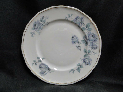 Royal Tettau Damask Rose, Blue / Green Roses: Salad Plate (s), 8 3/8""