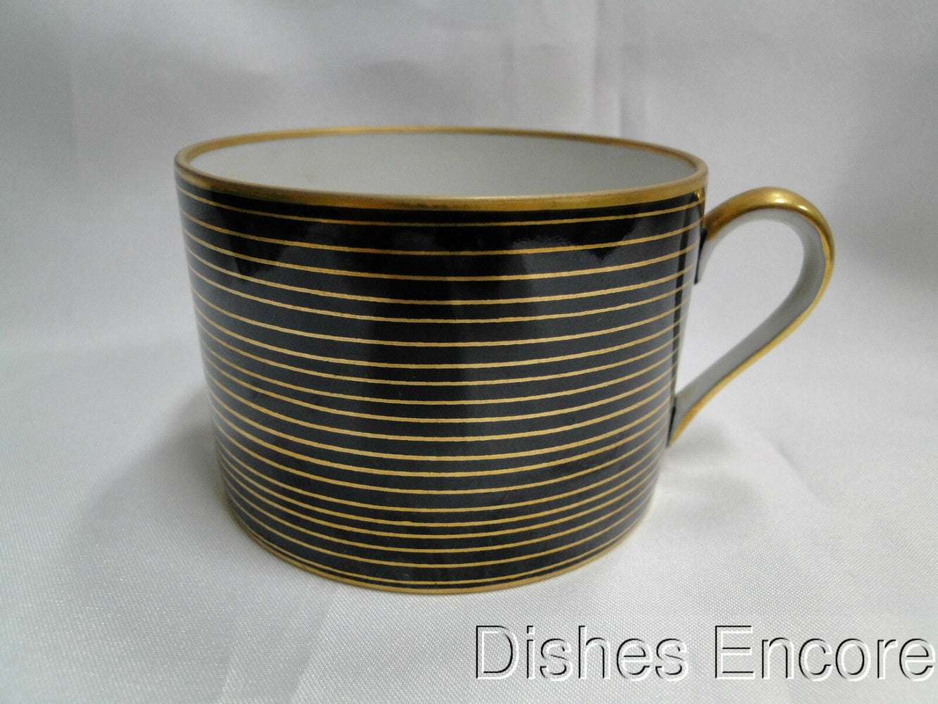 Fitz & Floyd Rondelle Black: Cup Only 2 1/8""