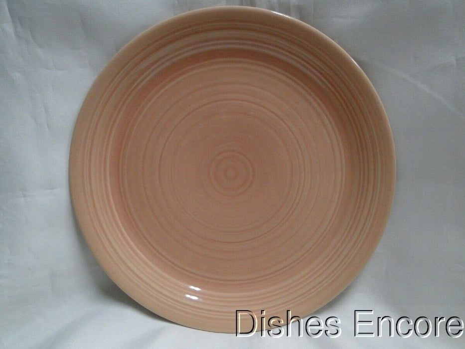 "Franciscan Peach Reflections: Dinner Plate 10 7/8"", Wear"