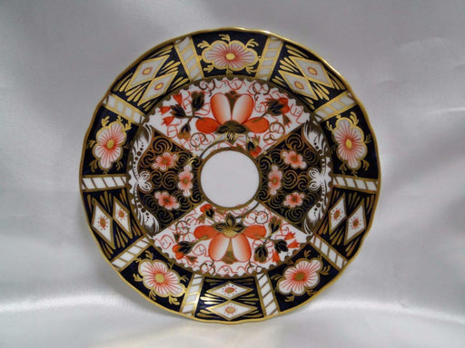 "Royal Crown Derby Traditional Imari: 5 5/8"" Scalloped Saucer Only, No Cup"