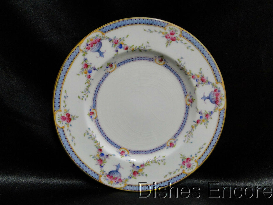 "Royal Worcester Rosemary Sky Blue, White: Bread Plate (s), 6"", As Is"