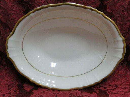 Syracuse Brantley, Wide Gold Trim: Oval Vegetable / Serving Bowl, 9.5""