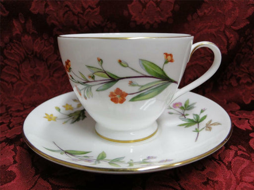 Minton Meadow Gold Trim Smooth: Cup/Saucer Set (s)