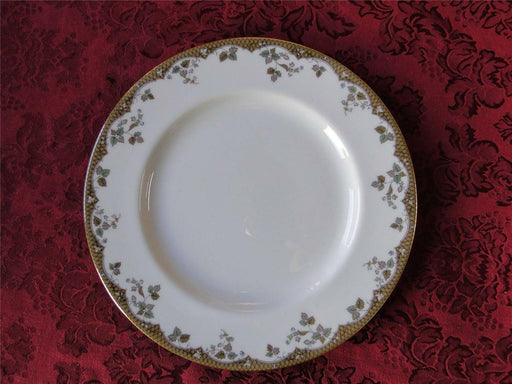 Royal Doulton Lynnewood, Leaves, Brown Edge: Dinner Plate (s), 10 5/8""