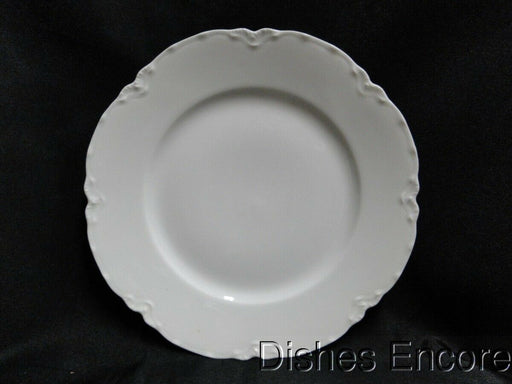 Haviland (Limoges) Ranson, White Scalloped: Salad Plate (s), w/ Rim, 7 3/8""