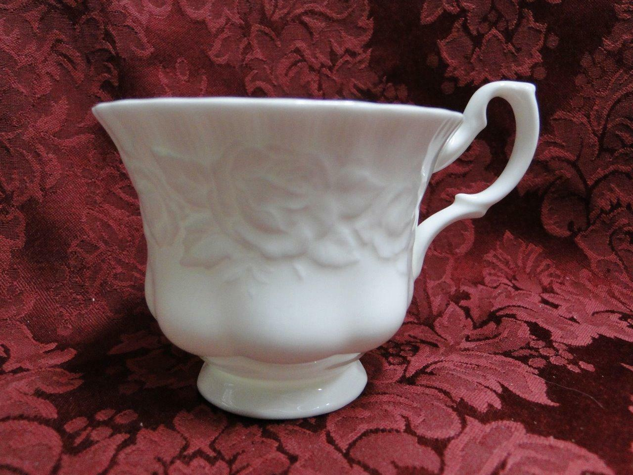 "Royal Albert Old English Garden, Embossed Roses: 2 7/8"" Cup - No Saucer"