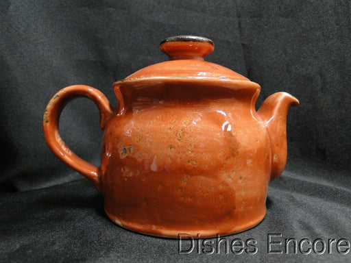 "Steelite Craft, England: NEW Terracotta Teapot Club w/ Lid, 4 1/2"", 15 oz"