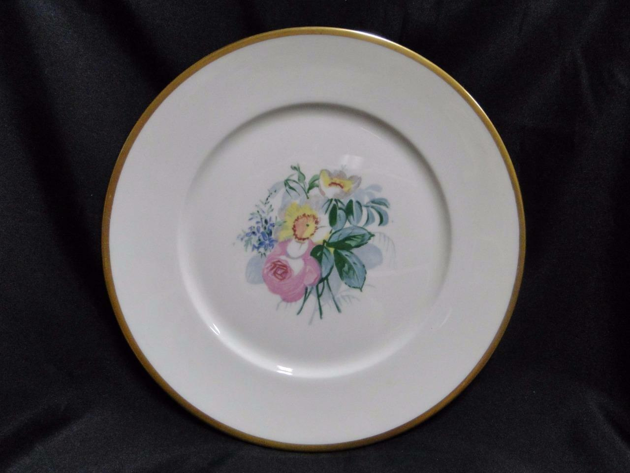 Lamberton Spring Garden, Cream, Multi Floral and Gold: Dinner Plate (s) 10 3/8""
