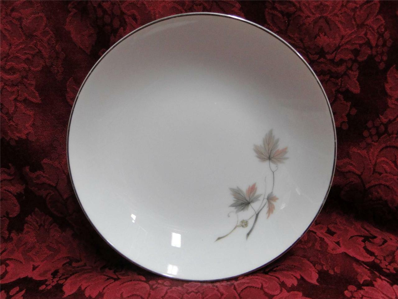 Noritake Oaklane, 6310, Taupe & Peach Leaves: Coupe Soup Bowl (s), 7 3/8""