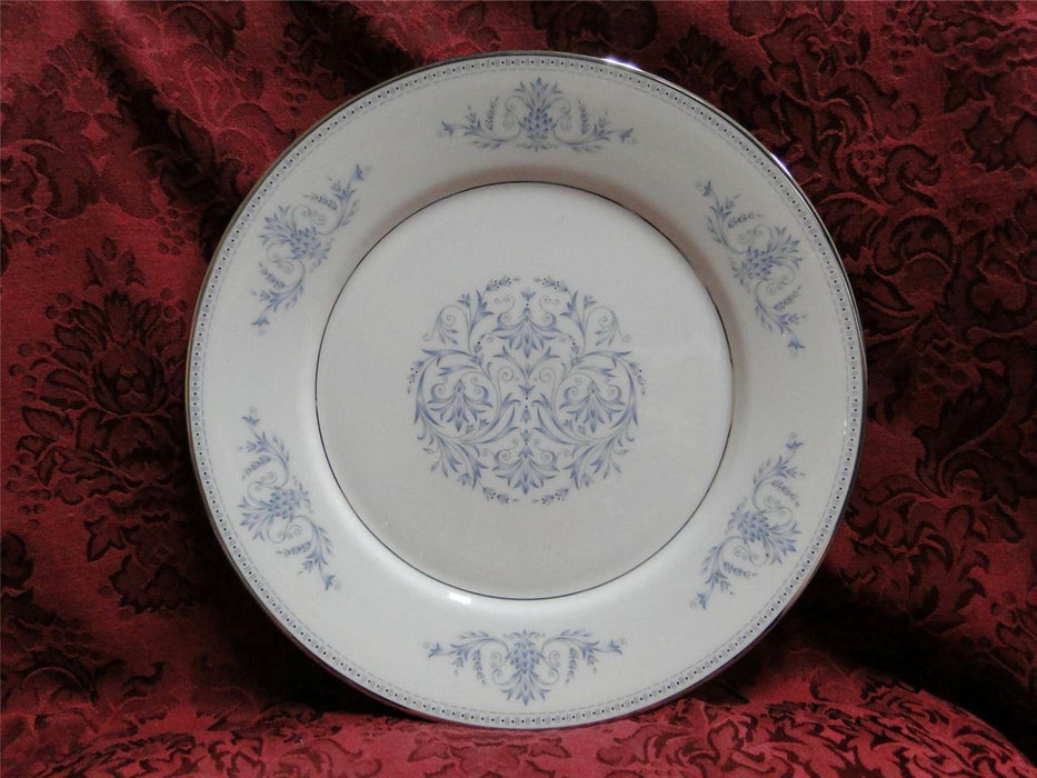 Oxford (Lenox) Bryn Mawr, Blue Scrolls & Leaves: Dinner Plate (s), 10 3/4""