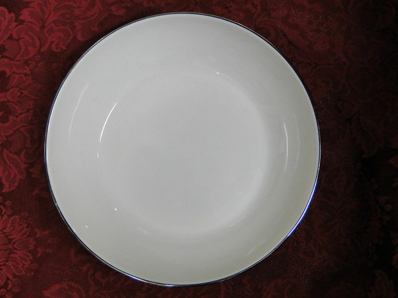 Flintridge Reverie Strata Blue  Round Serving Bowl 8 1/4""