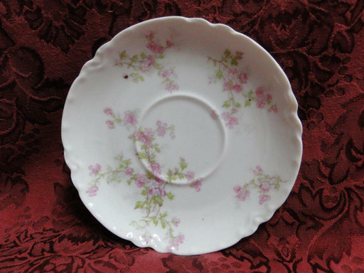 Haviland, Limoges Schleiger 29, Blank 1, Pink Flowers: Saucer (s) Only, 5 1/2""