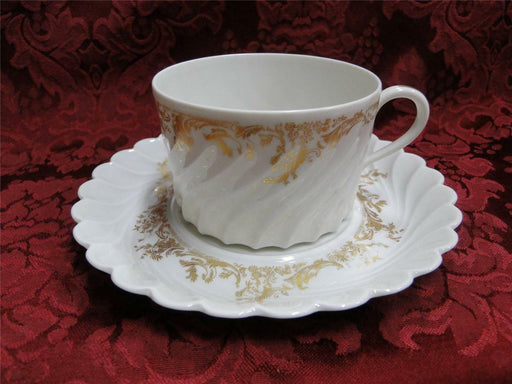 Haviland (Limoges) Ladore, Gold Floral: Cup and Saucer Set (s)