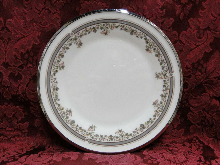 Lenox Lace Point, Gray and Pink, Platinum: Salad Plate (s) 8 1/8""