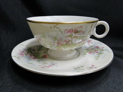 Haviland (New York) Apple Blossom: Cup and Saucer Set (s) 2 1/4""