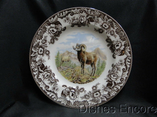 "Spode Woodland Bighorn Sheep, England: NEW Dinner Plate (s) 10 3/4"", Box"
