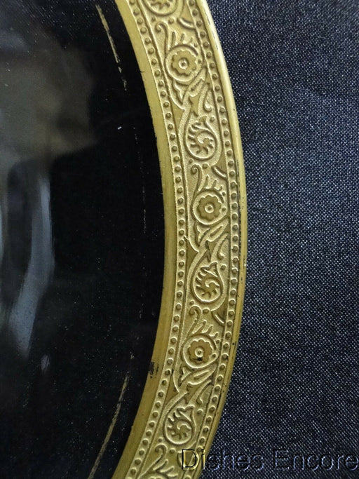 "Tiffin Westchester, Gold Encrusted Band: Luncheon Plate (s), 8 1/4"", Gold Wear"