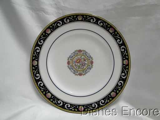 Wedgwood Runnymede Blue, Pink Shells: Salad Plate (s), 8 1/8""