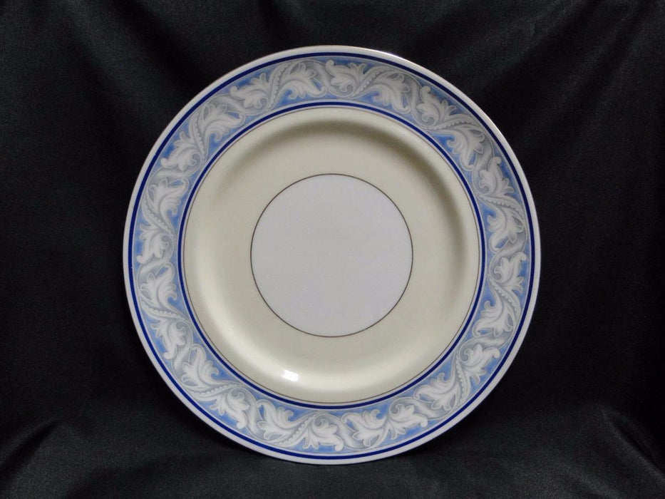 Royal Doulton The Tewkesbury, Scrolls on Blue Rim: Dinner Plate (s), 10 5/8""