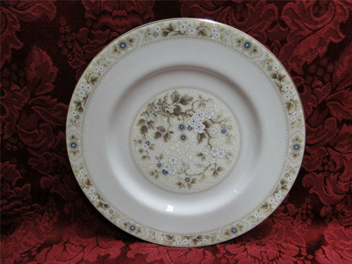 Royal Doulton Mandalay, Tan, Blue & White Flowers: Salad Plate (s), 8""