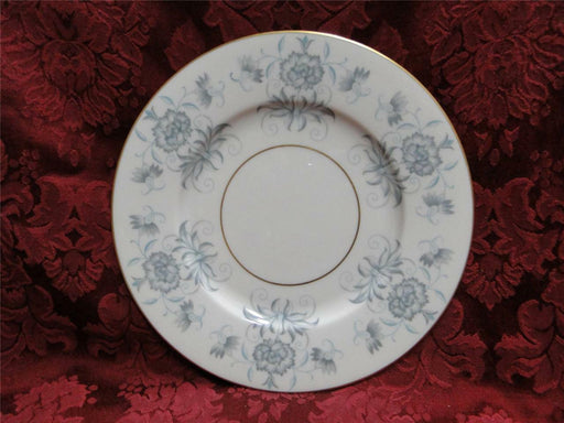 Castleton Caprice, blue flowers, gold trim: Bread Plate (s) 6 1/4""