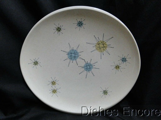Franciscan Starburst, Aqua, Green, Yellow Star Design: Dinner Plate (s) 10 3/4""
