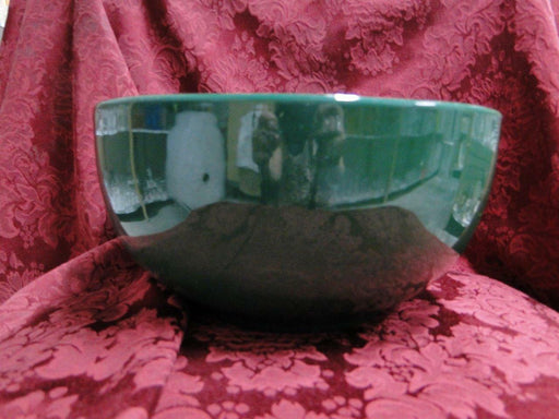"Ralph Lauren Solid Green Stoneware, Italy: Salad Serving Bowl, 10"" x 5"" Tall"