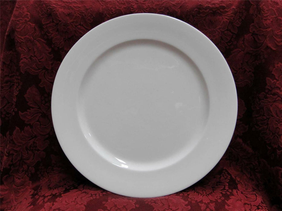 Lenox Decor, All White Rim Shape, No Trim: Charger Or Chop Plate 12 1/4""