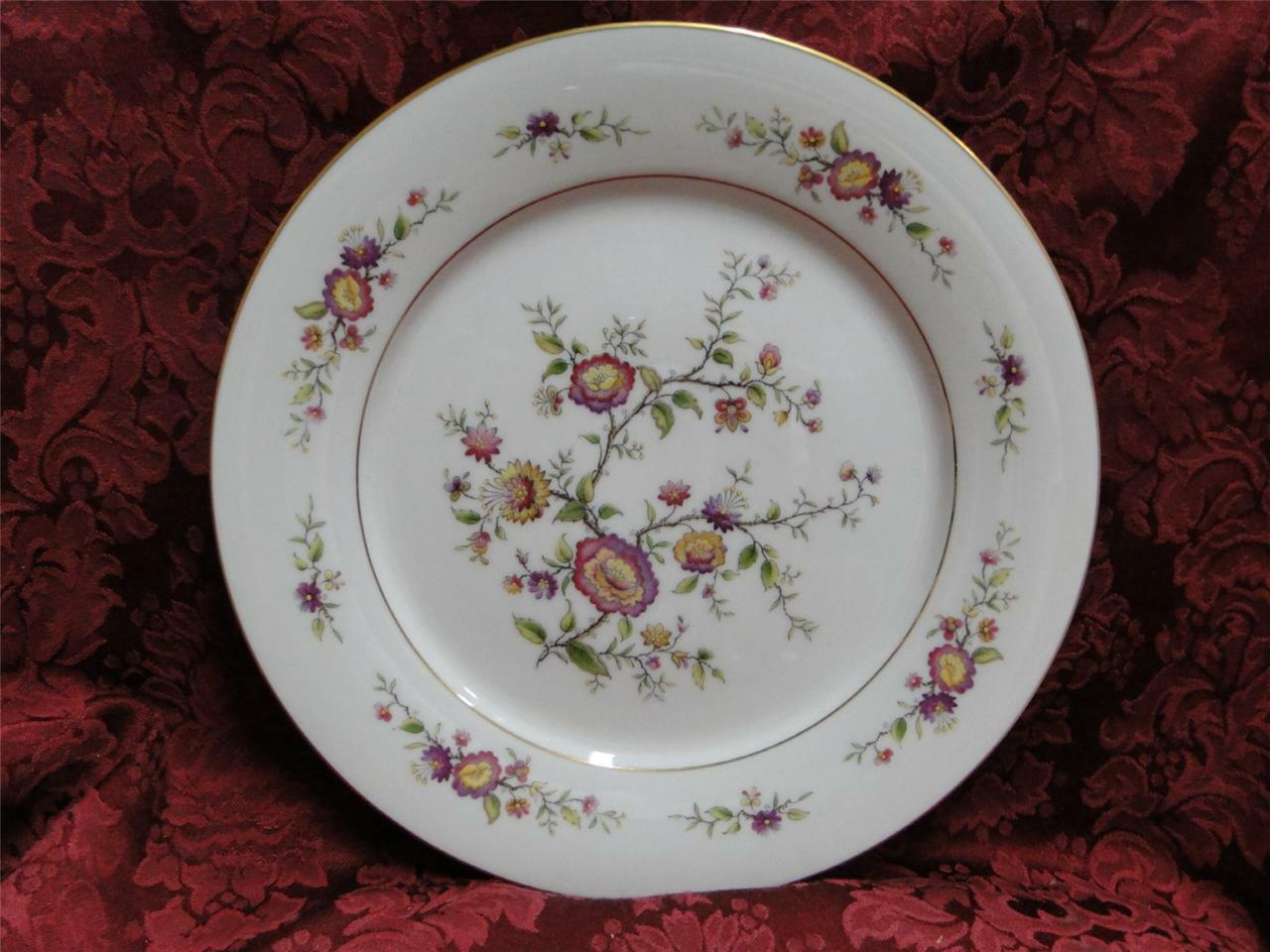 Noritake Asian Song, 7151, Oriental Floral, Gold Trim: Dinner Plate (s), 10.5""