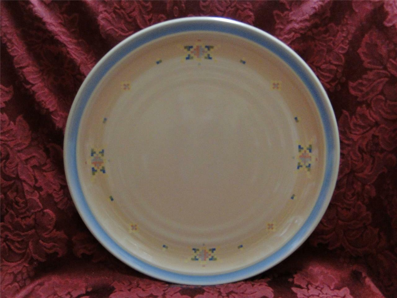 Noritake Arizona, Santa Fe, Blue Band, Geometric: Dinner Plate (s), 10 1/4""