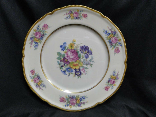Castleton China, Castleton Rose, Floral, Gold Trim: Dinner Plate (s) 10 5/8""