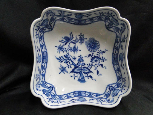 Hutschenreuther Blue Onion, Scalloped: Square Serving Bowl 7 1/8""