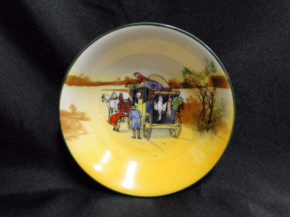 "Royal Doulton Coaching Days, Coach w/ Hanging Animals: Fruit Bowl, 5 1/2"", 11b"