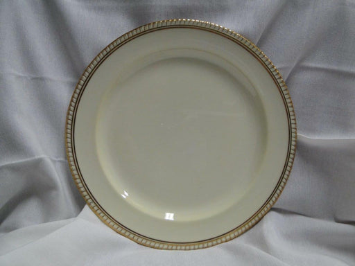 Spode Copeland's Westminster Y4090, Cream w/ Gold Trim: Dinner Plate (s), 10 1/2""