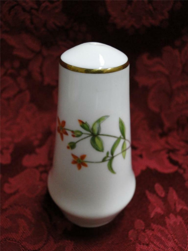 Minton Meadow Gold Trim Smooth: Salt Shaker, One Hole