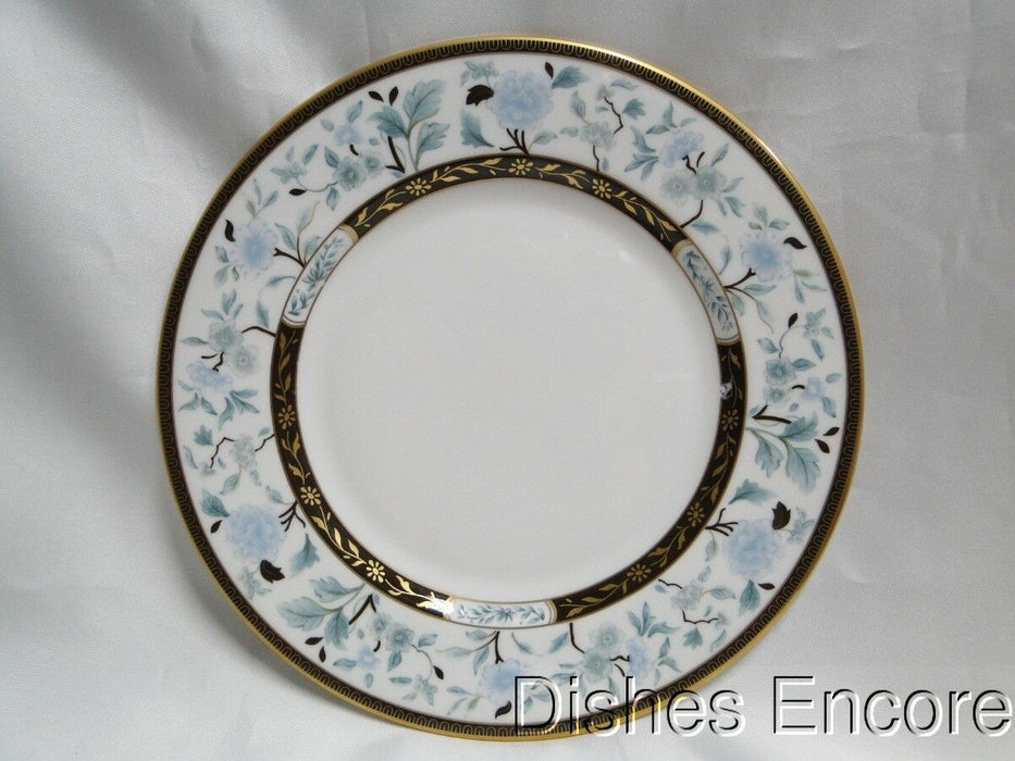 Lenox Palatial Garden, Marchesa, White w/Brown, Blue, Gold:Salad Plate(s) 8 1/8""