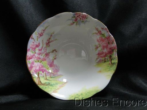 "Royal Albert Blossom Time, Pink Flowering Trees: Cereal Bowl (s) 6 1/4"" x 1 3/4"""