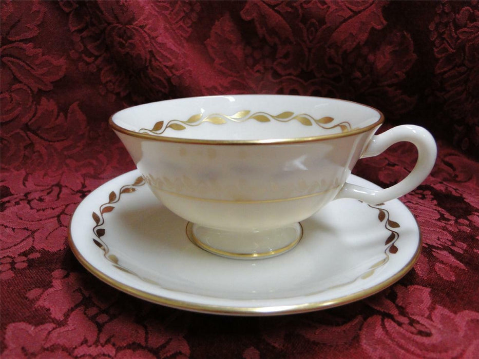 Lenox Golden Wreath: Cup and Saucer Set (s)