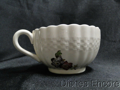 Spode Wicker Lane, Basket Weave, Florals: Cup & Saucer Set (s), 2 1/8""