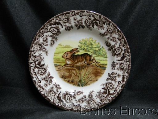 "Spode Woodland Rabbit, Bunny, England: NEW Salad Plate (s), 7 3/4"", Box"
