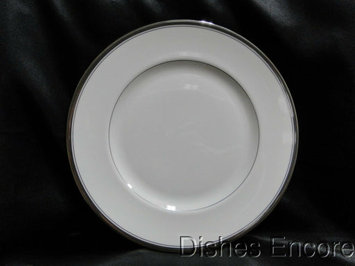 Waterford Harcourt Platinum, Platinum Bands on Rim: Dinner Plate (s), 10 3/4""